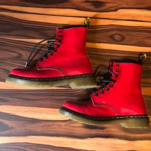 Great condition Bright Red Dr. Martens